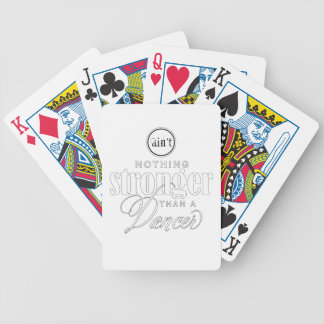 Strong Dancer Bicycle Playing Cards