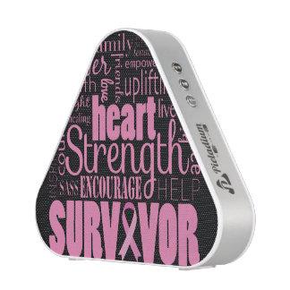 Strong Descriptives Cancer Survivor Bluetooth Speaker