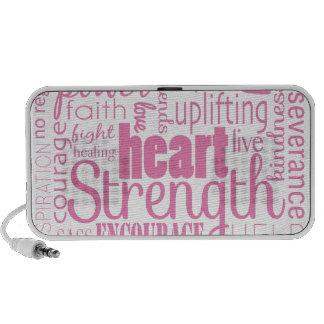 Strong Descriptives Cancer Survivor Portable Speaker