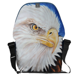 Strong Eagle Oil painting Courier Bag