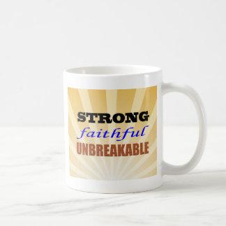 Strong Faithful Unbreakable Coffee Mug
