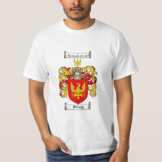 Strong Family Crest - Strong Coat of Arms T Shirt