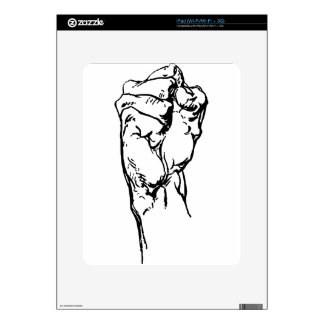 Strong Fist Decals For The iPad