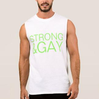 strong&gay sleeveless tees