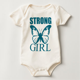 STRONG GIRL BABY BODYSUIT