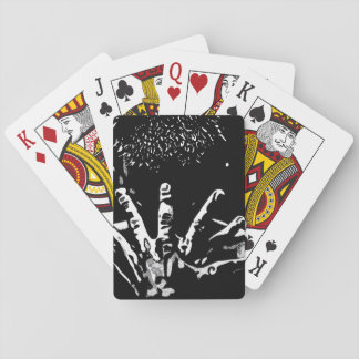 Strong hands Playing Cards