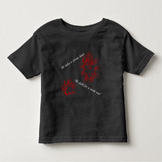 """""""Strong Heart"""" Kid's T-Shirt"""