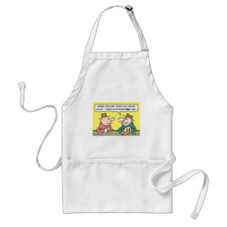 strong intelligent women adult apron