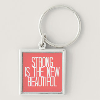 """""""Strong is beautiful"""" keychain"""