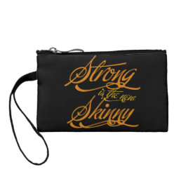 Strong is the new Skinny Coin Purse