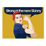 Strong is the new Skinny Postcard