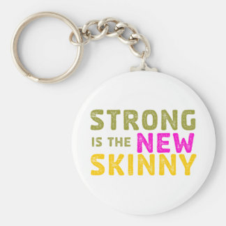 Strong is the New Skinny - Sketch Keychains