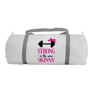Strong Is The New Skinny (weights) Duffle Bag