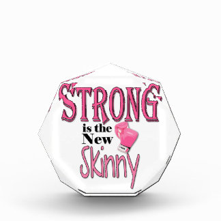 STRONG is the new Skinny! With Pink Boxing Gloves Award