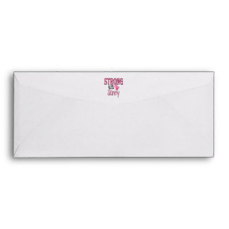 STRONG is the new Skinny! With Pink Boxing Gloves Envelope