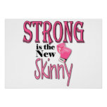 STRONG is the new Skinny! With Pink Boxing Gloves Print