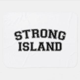 Strong Island, NYC, USA Baby Blanket