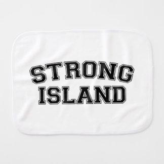 Strong Island, NYC, USA Baby Burp Cloth