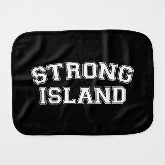 Strong Island, NYC, USA Burp Cloth