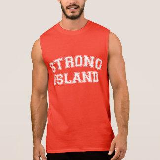 Strong Island, NYC, USA Sleeveless Shirt