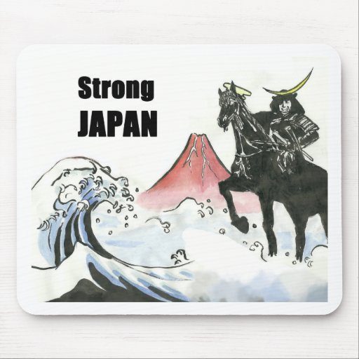 Strong JAPAN Mouse Pad