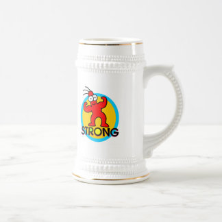 Strong Kids T Shirts and Kids Gifts Beer Stein
