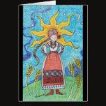 Strong Like the Sun Ukrainian Folk Art