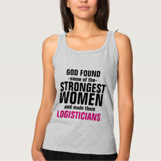 Strong Logisticians Tank Top