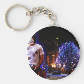strong man keychain