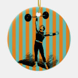 strong man ornament