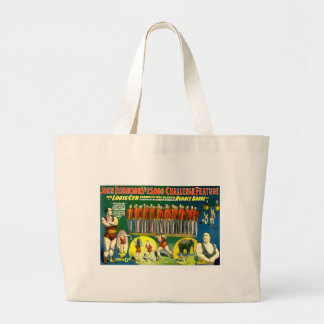 Strong Men Circus Show Vintage 1898 Poster Tote Bag