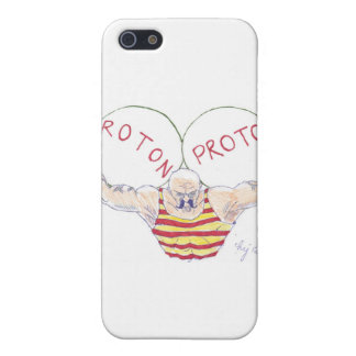 Strong Nuclear Force Physics Cartoon iPhone 5 Cases