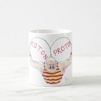 Strong Nuclear Force Physics Cartoon Coffee Mug