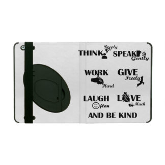 Strong people iPad 2/3/4 Case with Kickstand