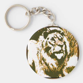 Strong Roar Keychain