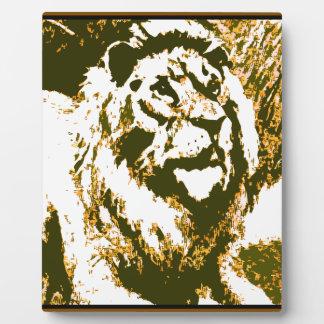 Strong Roar Plaque