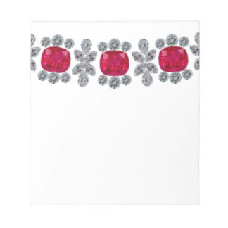 Strong Rubies Note Pads