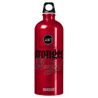 Strong Showgirl Water Bottle