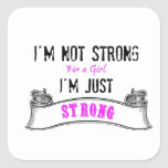 Strong Sticker