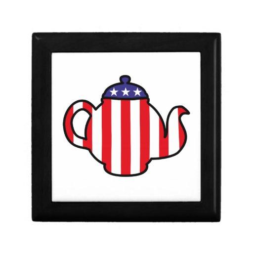 Strong Tea Party logo Trinket Box