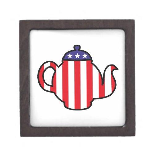 Strong Tea Party logo Premium Gift Boxes