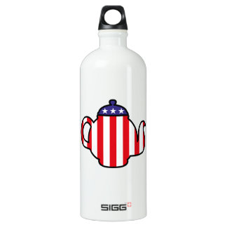 Strong Tea Party logo Water Bottle