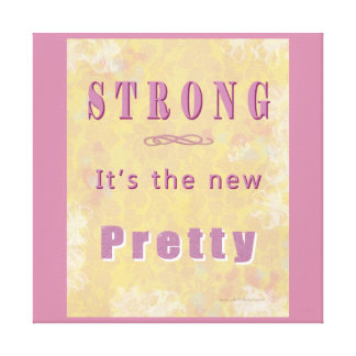 strong-the-new-pretty-yellow5 canvas print