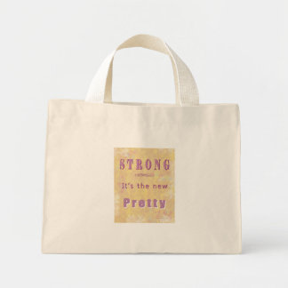 strong-the-new-pretty-yellow5 mini tote bag