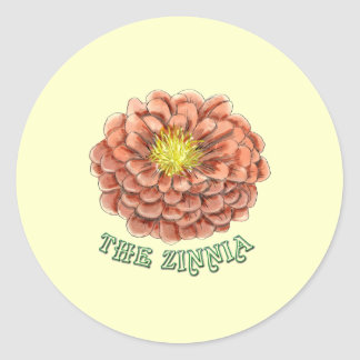 <strong>The Zinnia</strong> stickers