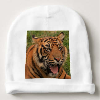 Strong Tiger Baby Beanie