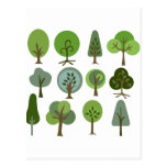 Strong Tree Postcards