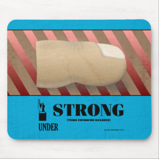 Strong Under Toe Mouse Pad