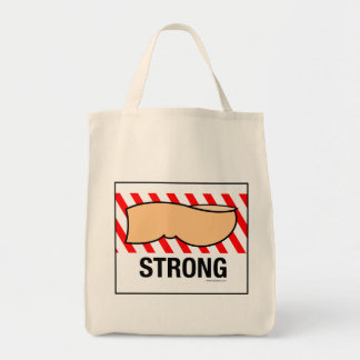 Strong Under Toe Tote Bag