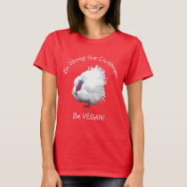 Strong Vegan Turkey Christmas T-Shirt